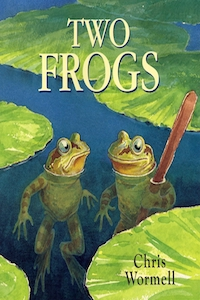 two frogs chris wormell libreria javier